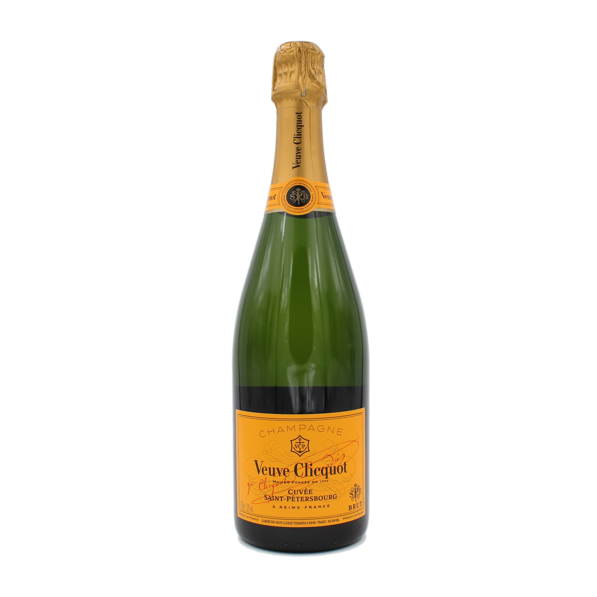 Brut Yellow Label Cuvee Saint-Petersbourg Veuve Clicquot