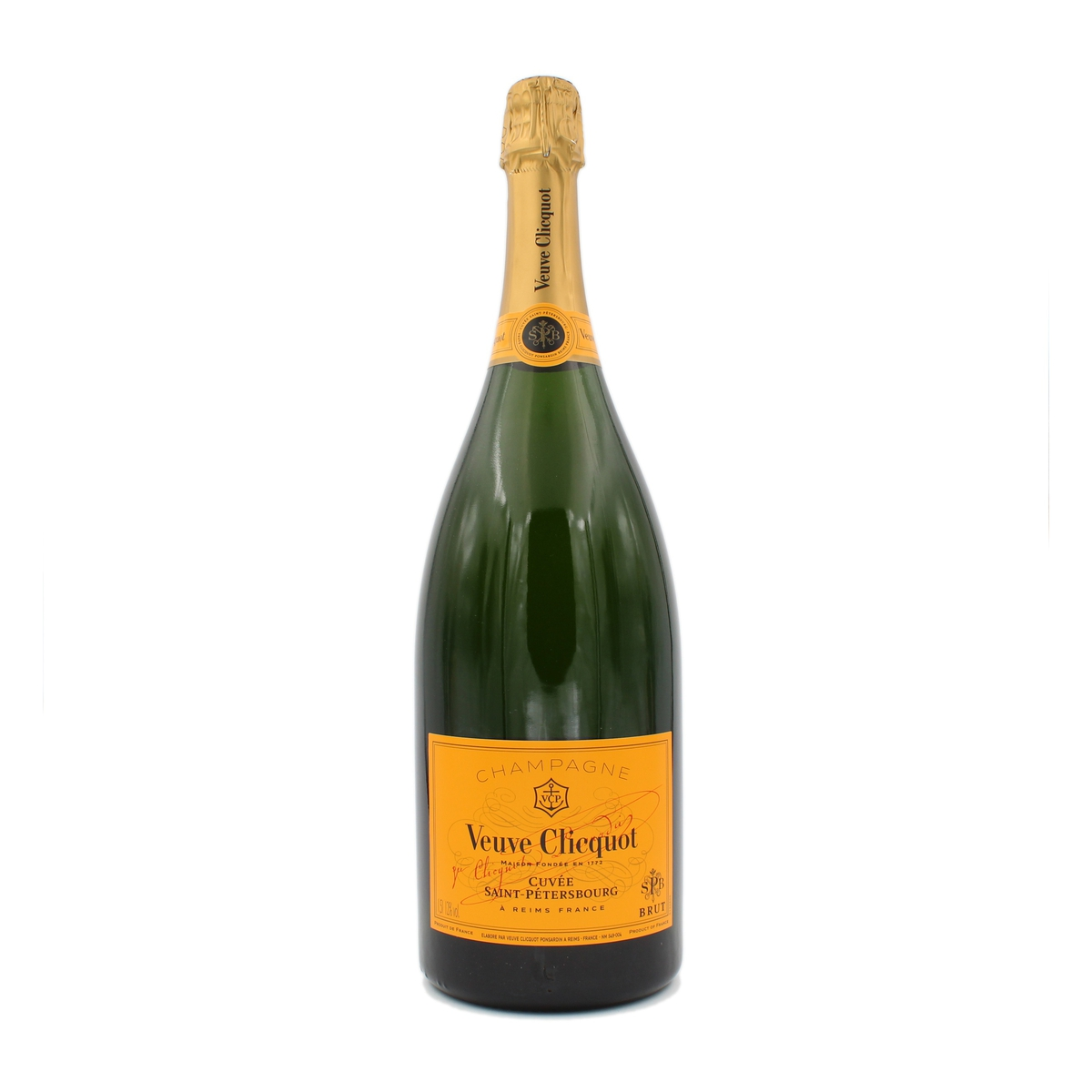 Brut Yellow Label Cuvee Saint-Petersbourg Magnum Veuve Clicquot