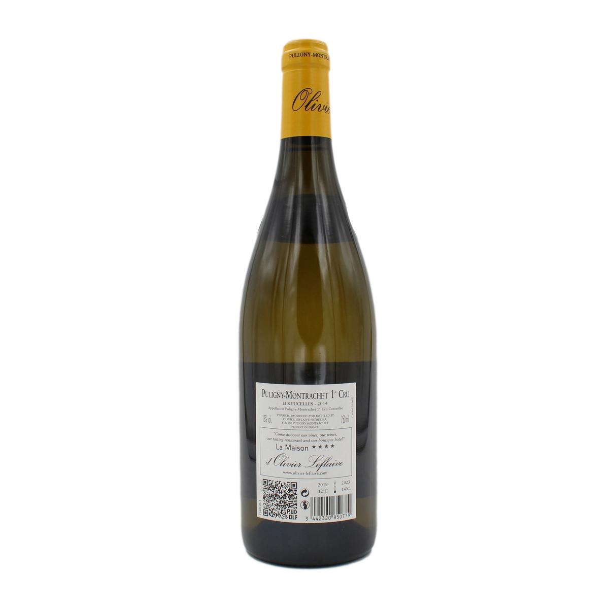 Puligny-Montrachet 1er cru Les Pucelles Domaine 2014 Domaine Olivier Leflaive
