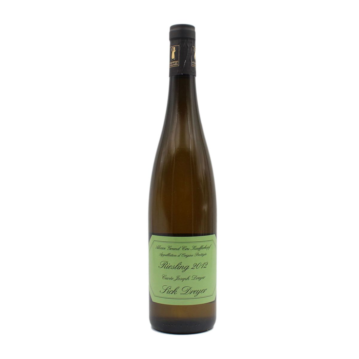 Riesling Kaefferkopf 2012 Sick - Dreyer